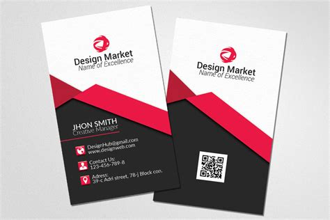 vertical business card template psd vertical business cards psd templates by designhub
