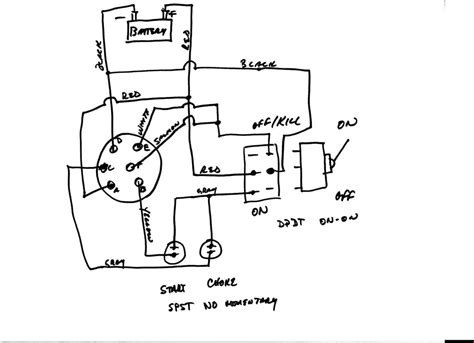 marine grade ignition starter wiring diagram marine free