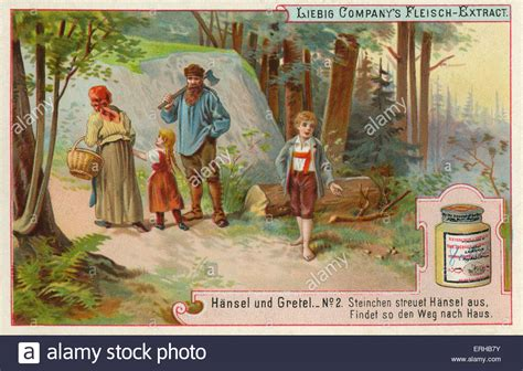Hansel And Gretel Stock Photos Hansel And Gretel By The Brothers Grimm 1821 Caption