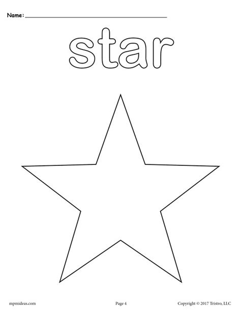printable star sheet shooting star coloring sheet pic coloring pages of a star