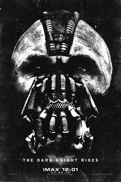 Dark Posters by The Dark Knight Rises Imax Poster Collider