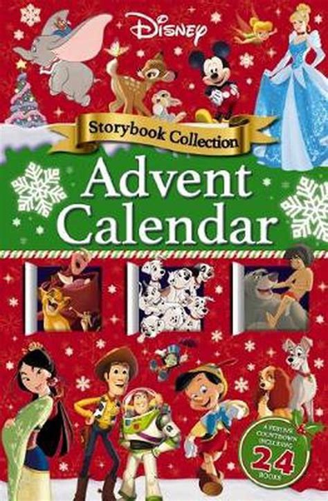 disney storybook advent calendar  story collection