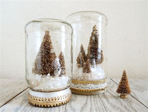 let it snow 2015 christmas mason jar snow globe crafts