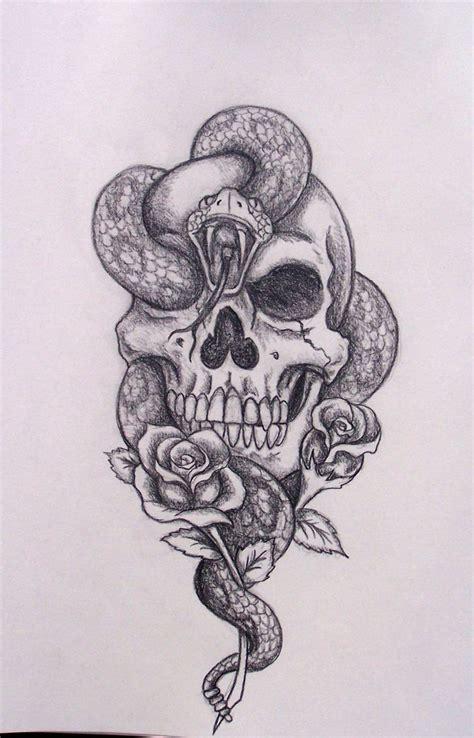 skull and snake tattoo design skull and snake designs 35 amazing skull and snake