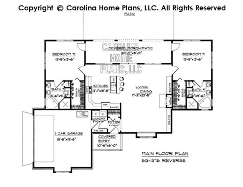 small florida house plans small florida style house plan sg 1376 sq ft affordable