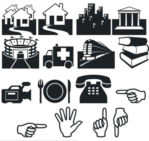 membuat outline pada gambar di coreldraw cara menambahkan simbol rumah gedung stadion dll di