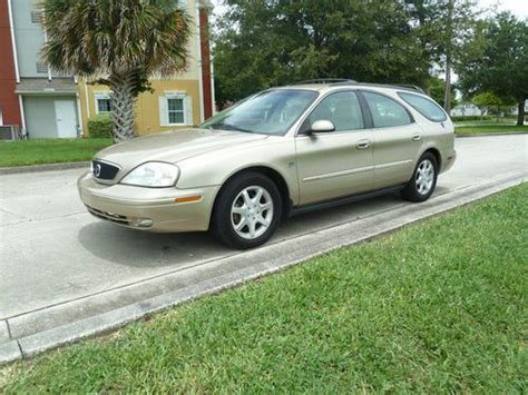 how to sell used cars 2001 mercury sable transmission control find used 2001 mercury sable station wagon nice car runs great fl car no rust in clearwater