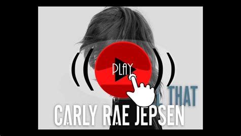 carly rae jepsen all that m 250 sica carly rae jepsen all that
