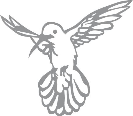 printable hummingbird stencils glass etching stencil of hovering hummingbird in category