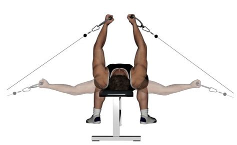 flat bench cable flye 10 chest fly exercise and its benefits bodybuilding estore