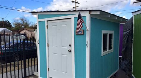 Tiny House Innovations by Homeless In Los Angeles Lose Tiny Houses To City Cleanup Rt America