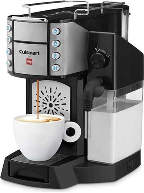 Cuisinart Buona Tazza for illy's iperEspresso Capslues Makes Espresso, Cappuccinos and Lattes