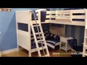 How To Build Bunk Beds New Maxtrix L Shaped Bunk Loft Bed Launches At High