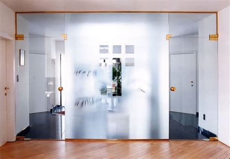 porte divisorie scorrevoli in vetro realizzare pareti in vetro le pareti pareti in vetro