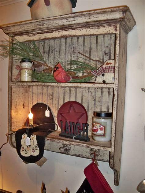 Best 25  Primitive shelves ideas on Pinterest   Primitive