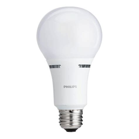 3 Way Led Light Bulbs Philips 40w 60w 100w Equivalent Soft White 3 Way Led Energy Light Bulb 459156 The Home Depot