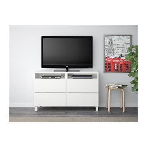 besta tv bench with drawers best 197 tv bench with drawers lappviken white 120x40x74 cm