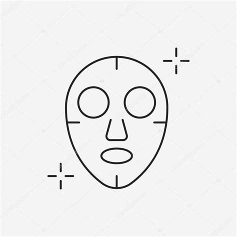 Masker Line mask line icon stock vector 169 vectorchef 77375210