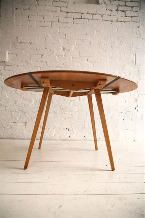 Ercol Drop Leaf Dining Table Ercol Drop Leaf Dining Table And Chrome
