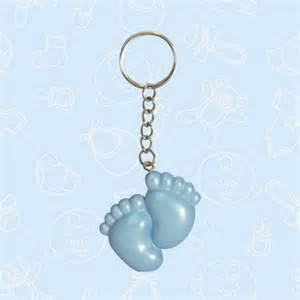 footprints baby shower keychain favors set of 12 1 75 per item oh my favors
