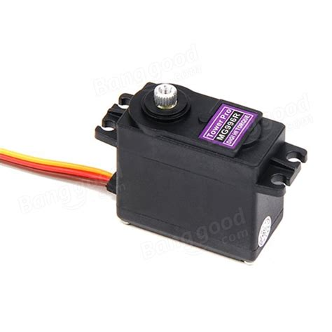High Speed Mg995 Metal Gear Rc Digital Servo towerpro mg996r metal gear digital high torque servo 55g sale banggood