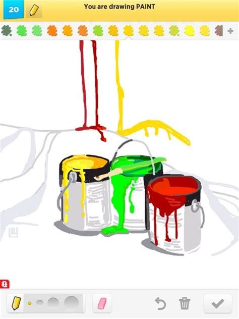 paint draw paint drawings how to draw paint in draw something the