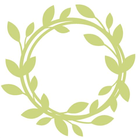 wreath svg scrapbook cut file cute clipart files for