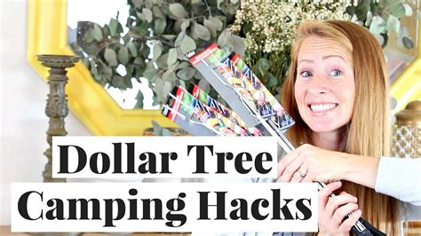 dollar tree hacks quick and easy dollar store cing hacks