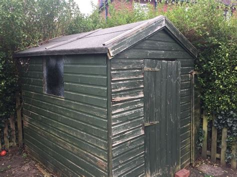 wooden garden shed  sale  telford shropshire gumtree