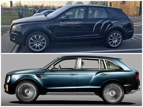 bentley bentayga spied in production ready form shows