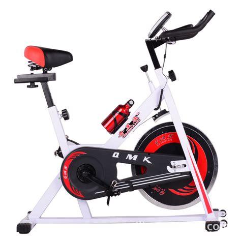 Spinning Bike America White the slimming shaping exercise bike home spinning wheel white frame spinning qmk 1001