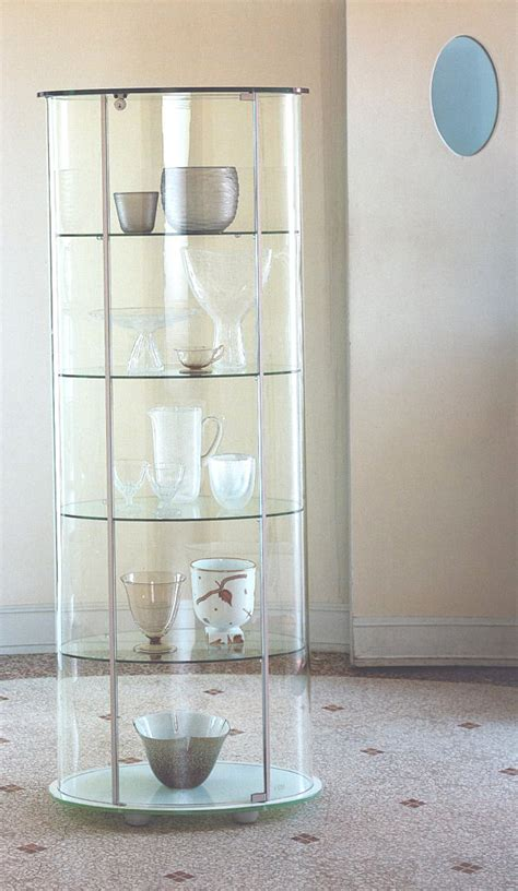 Display Kitchen Cabinets glass cabinets for a chic display