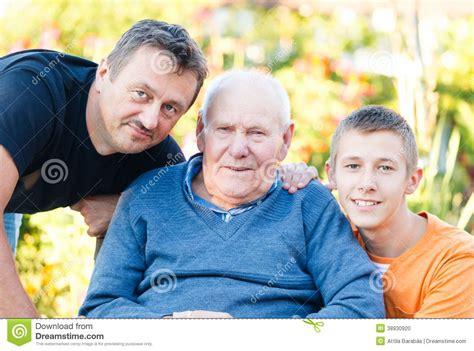 members of three family members stock photo image 38930920
