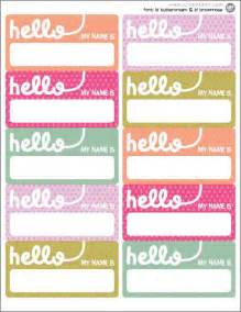 name tag template 25 best ideas about printable name tags on
