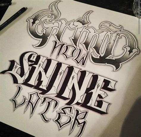 tattoo fonts king chicano letters lettering chicano