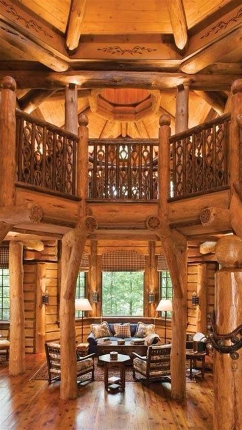 beautiful log home interiors beautiful window and cabin on
