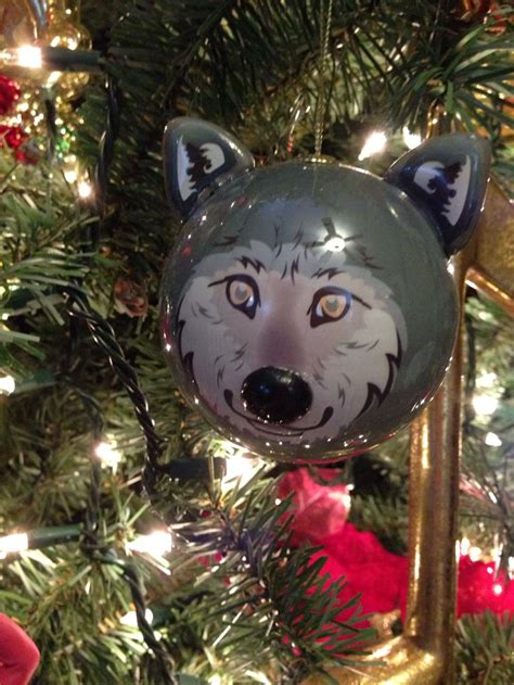 great wolf lodge ornament christmas pinterest wolves