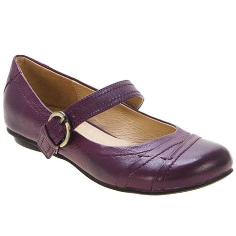 womens purple flat shoes miz mooz whisky and purple on