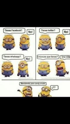 imagenes chistosos de los minions chistes on pinterest original nintendo spanish humor