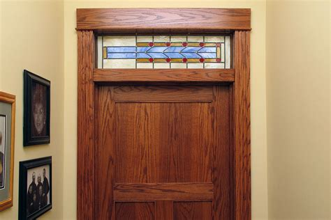 Interior Transom Window Custom Stained Glass Windows Painted Light Stained Glass