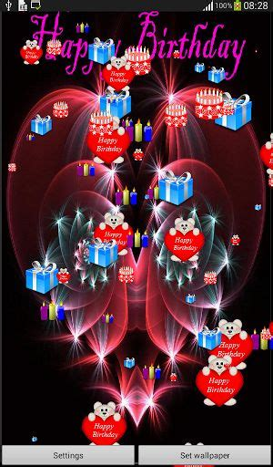 Happy Birthday Live Wallpaper Download