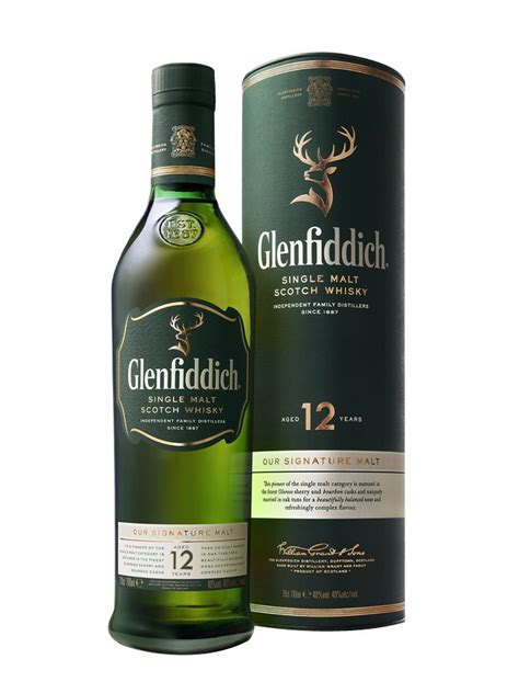 whisky glenfiddich 12 year special reserve 40