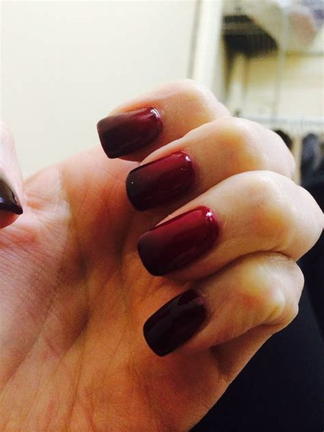 nail change color color change nails nails