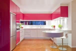 Light Pink Kitchen Pink Modern Kitchen Interior Design Ideas