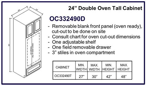 double oven cabinet width kitchen cabinets builders one