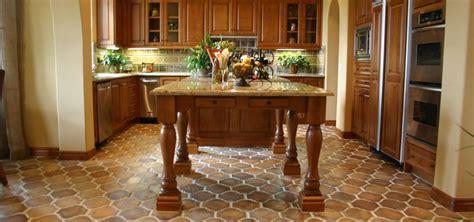 Concrete Tile Kitchen Flooring   Westside Tile and Stone