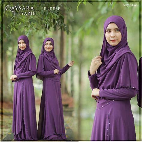 Syarie Dress jubah syarie purple muslimah fashion others on carousell