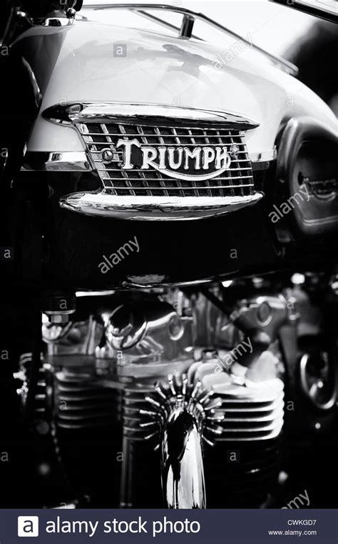 Triumph Motorrad Polen by Triumph Motorbike Stockfotos Triumph Motorbike Bilder