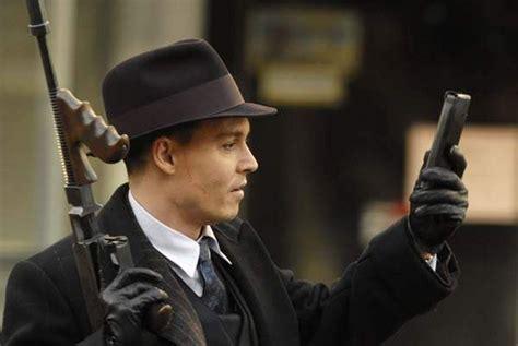 film gangster johnny depp fedora dillinger public enemies depp vintage hat