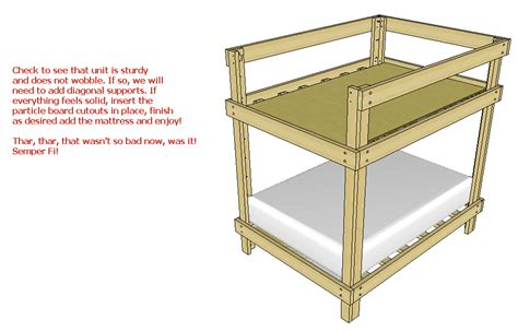 bunk bed plans pdf diy full over queen bunk bed plans pdf download make your